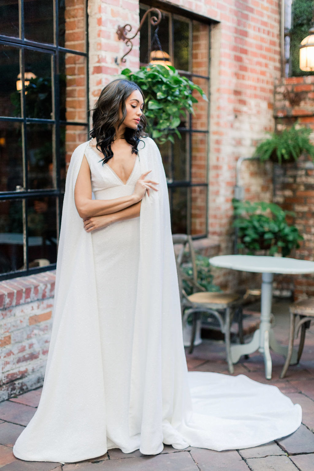 Brinlee wedding dress from the Allison Webb Spring 2019 Bridal Fashion Event in LA, Photo by Jessica Grazia Mangia Photography