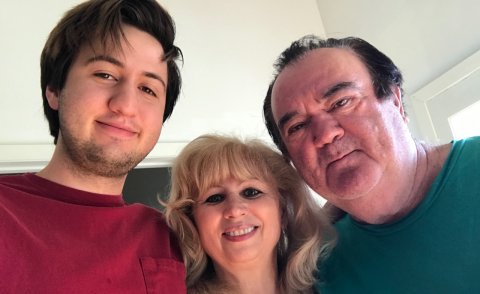 Olive, a 22-year-old transgender woman, with her parents, both of whom are Trump supporters. The family was profiled by USC Annenberg student Renee Gross.Photo courtesy of Olive