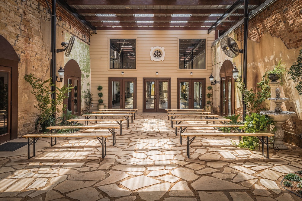 Wisteria Courtyard Exterior