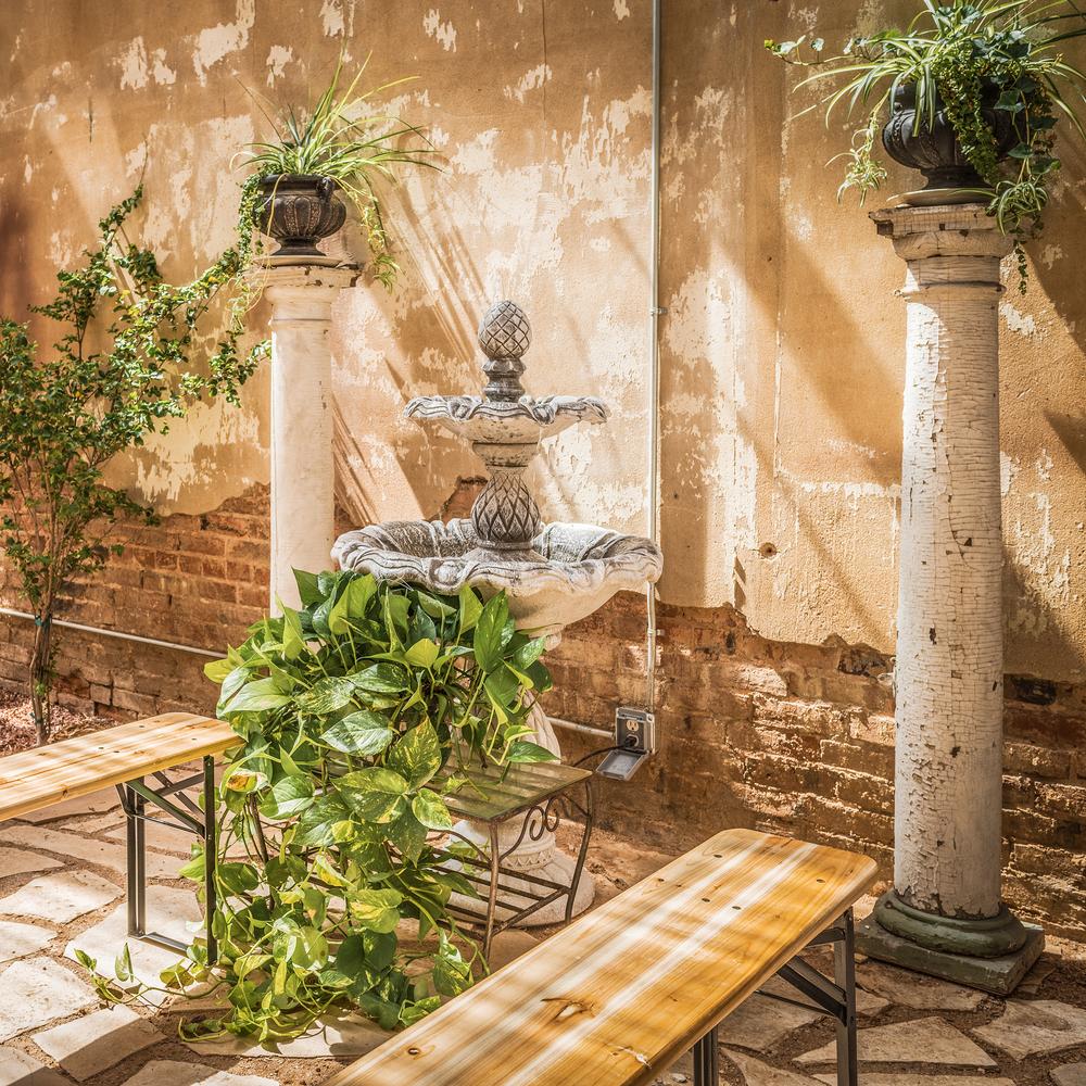 Wisteria Courtyard Fountain