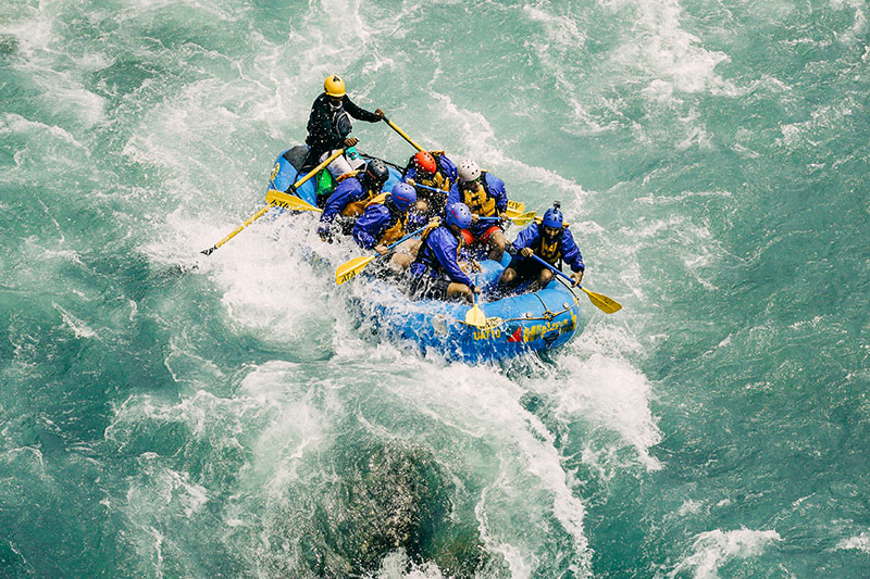 Tophat Tours White Water Rafting