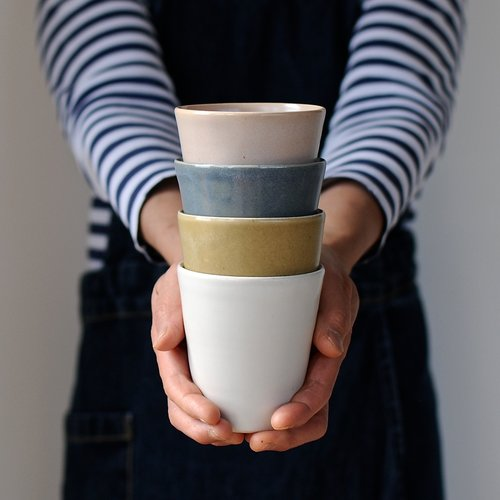 cups pottery makiko hastings