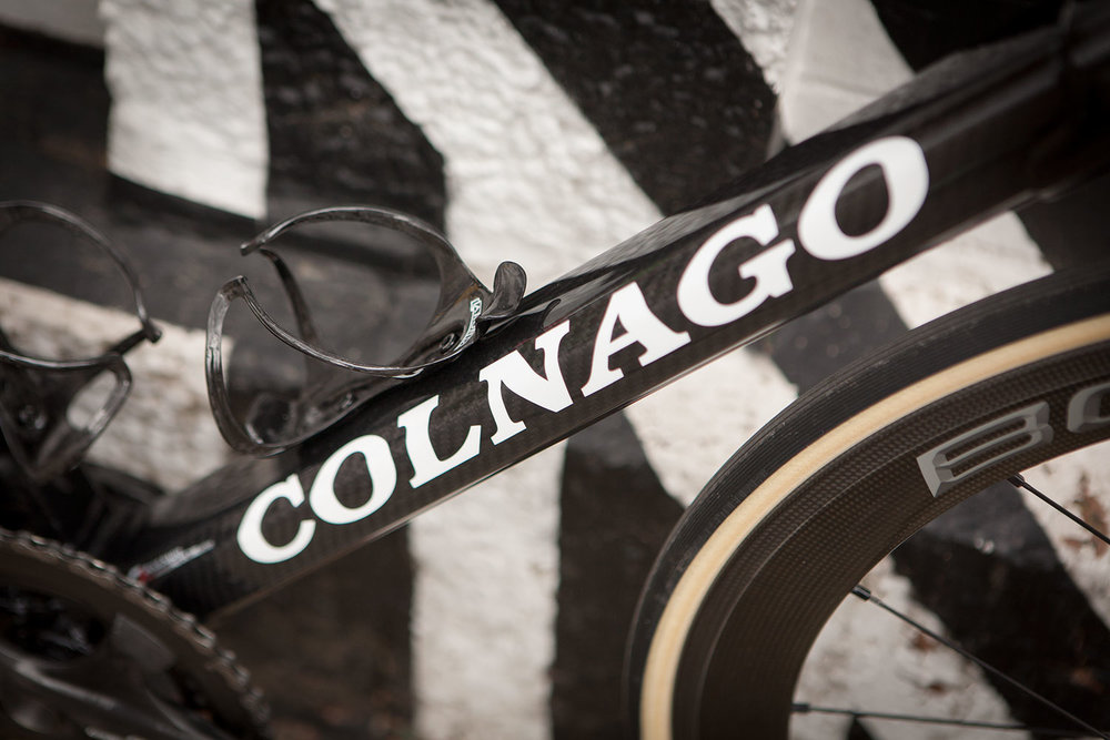 Colnago C60 frameset in RSCG colours custom built at Super Domestique.