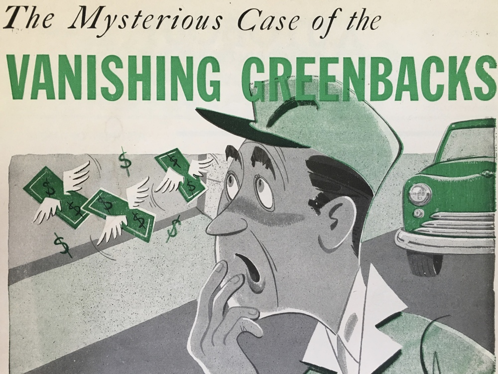 Vanishing Greenbacks - www.collisionfinancialservices.com