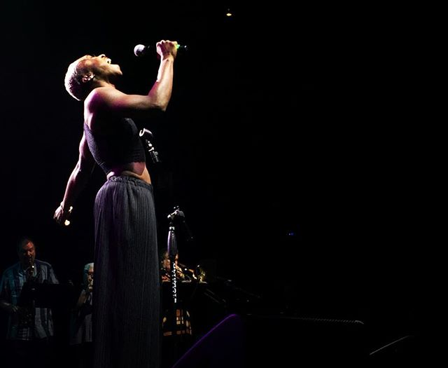 You guys didn't think that was it, did you? @CynthiaEriVo came back for another tune with @MrJasonRBrown! #ElsieFest