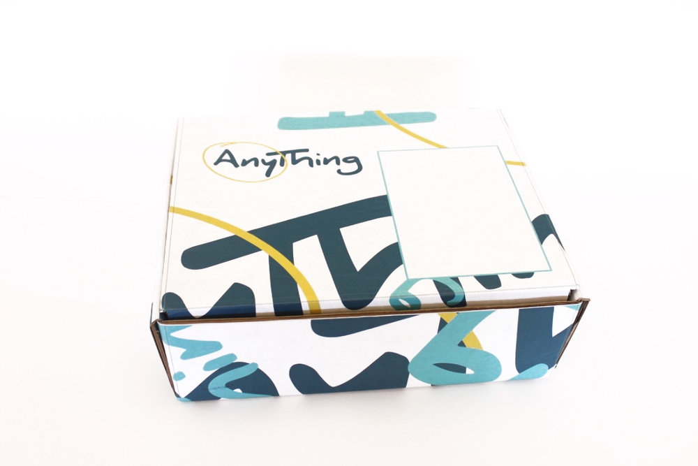 Anything Creativity Kit - This mail-order creativity kit is designed to show a group of people, who wouldn't otherwise think they have an innate creativity, they do in fact have it inside them to produce creative ideas. So many people think they aren't built with the creative gene, when in reality, everyone is creative. By taking something as simple as an unfinished shape and imagining what it could be and the uses of that object, the participant uncovers the truth within themselves without even having to be told.