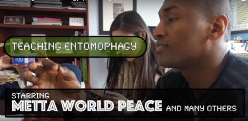 Teaching Entomophagy