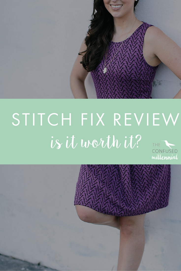 "Is Stitch Fix really worth all the hype? Pinners go crazy for it! Bloggers love having a stylist send them clothes! But is it really worth the investment? Can a stylist you've never met really find clothes that fit perfectly and match your taste? Check out my review of Stitch Fix after 3 ""fixes""!"