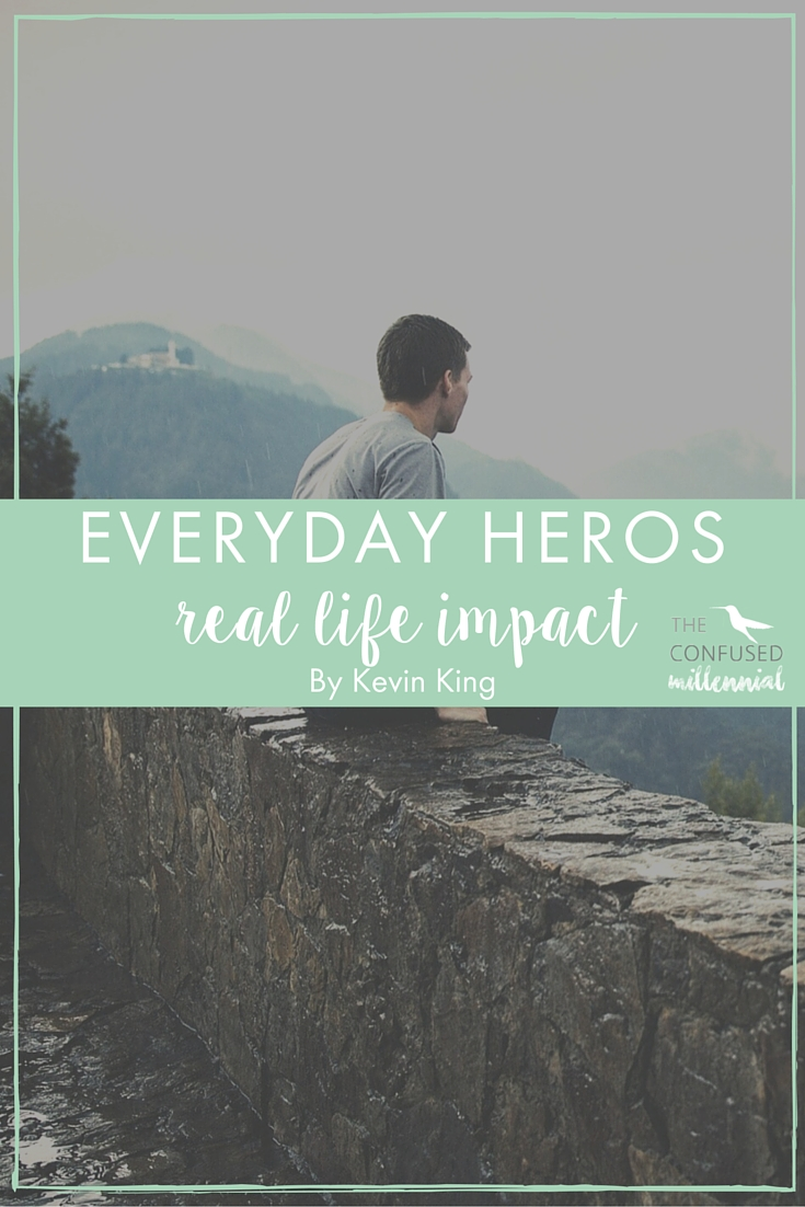 Sometimes our heroes are public figures, sometimes they are people... either way they have real impact on our everyday lives. Remember with every action you take, you are leaving an impact on this world, be it good or bad, positive or negative. Humanity is a community.