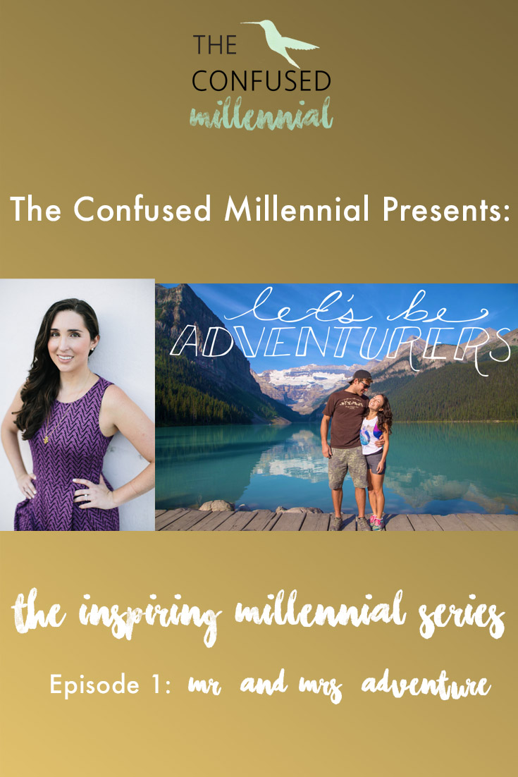 "The Confused Millennial vlog series ""Inspiring Millennials"" episode one with Mr. and Mrs. Adventure! These travel bloggers share how they quit their 9 to 5's to focus on their passion and purpose in life and build a community of wanderlusters. Learn how they turned their blog into a revenue generator and manifested their dream!"