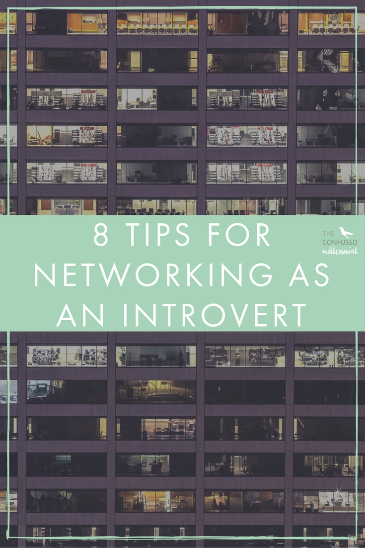 You've heard it before: when it comes to landing a job and developing your career,networking is everything. Personal connections will accelerate your professional development in a way that e-mails and ads simply can't. Networking can be a different kind of challenge for introverts since large networking events can be a bit intimidating and exhausting.There are a lot of misconceptions out there about what introverts are like. Being an introvert just means that I need time in a quiet, peaceful environment to offset the time I spend socializing. Depending on what kind of introvert you are, the amount of alone time you need might be different, but it's true that we all need it.How do you balance being a young professional who is putting yourself out into the business world and being an introvert? - The confused millennial