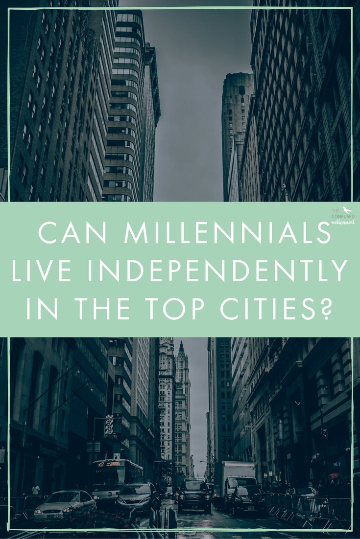 Between 2000 and 2013, the percentage of 23- to 34-year-olds living with family jumped a whopping 46 percent. Currently, 21 percent of millennials opt to live at home with parents, while a large portion of the generation splits rent with multiple roommates or cohabitates with a significant other.Despite the rising costs of renting, almost 9 percent of U.S. millennials live solo. Mid-size cities are significantly more palatable to a millennial budget, including Richmond, where 15 percent of millennials live alone. But is it possible to live alone in a big city on a young person's salary?