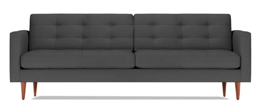 Exceptional Petrie Sofa In Charcoal
