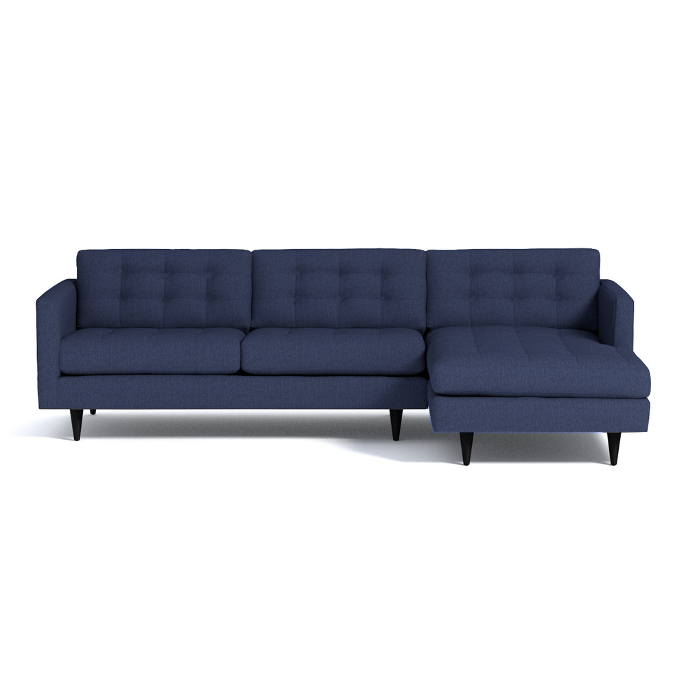 Petrie sectional in ink www spruce staging sale