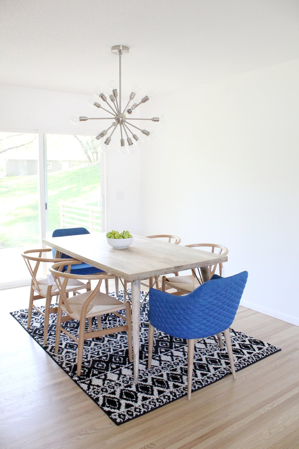 Mid-century Modern Home Staging Minneapolis