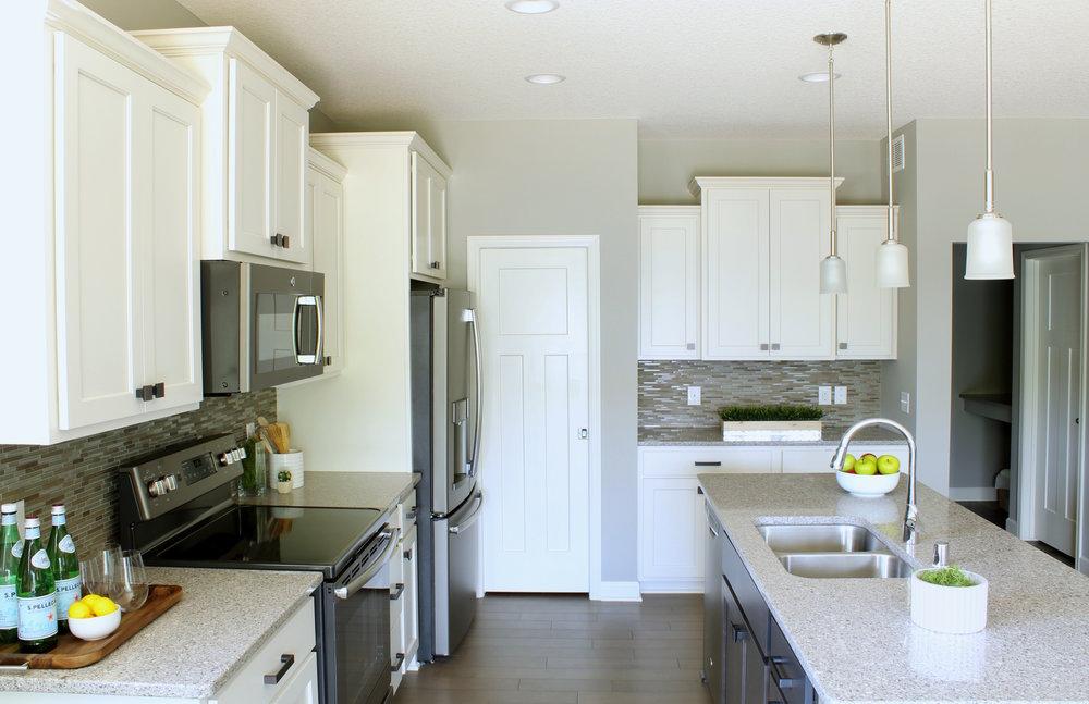 Modern Staged Kitchen