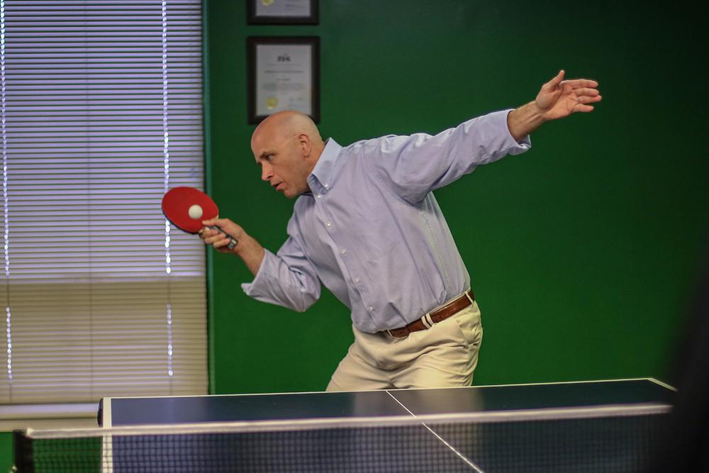 Jim Becker Ping Pong