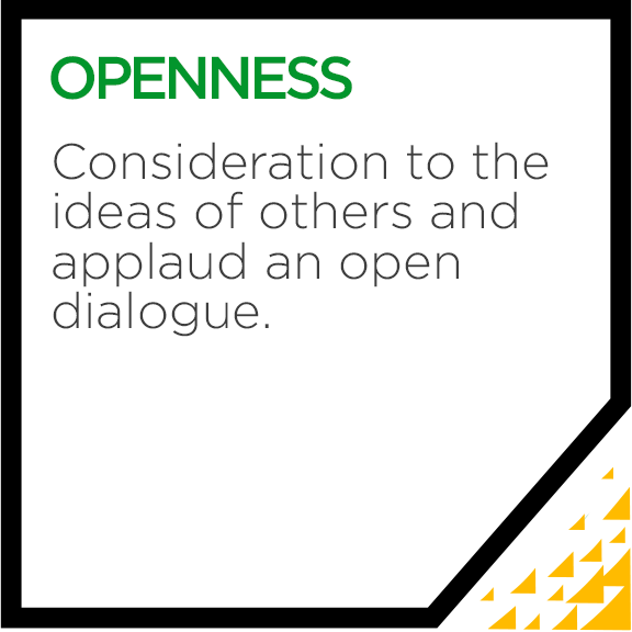 Becker Core Value - Openness