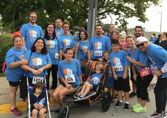 Becker Logistics Employees participate in the DuPage Pads Run 4 Home 5K/10K!