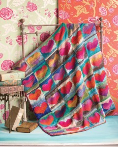 Noro Heart Blanket
