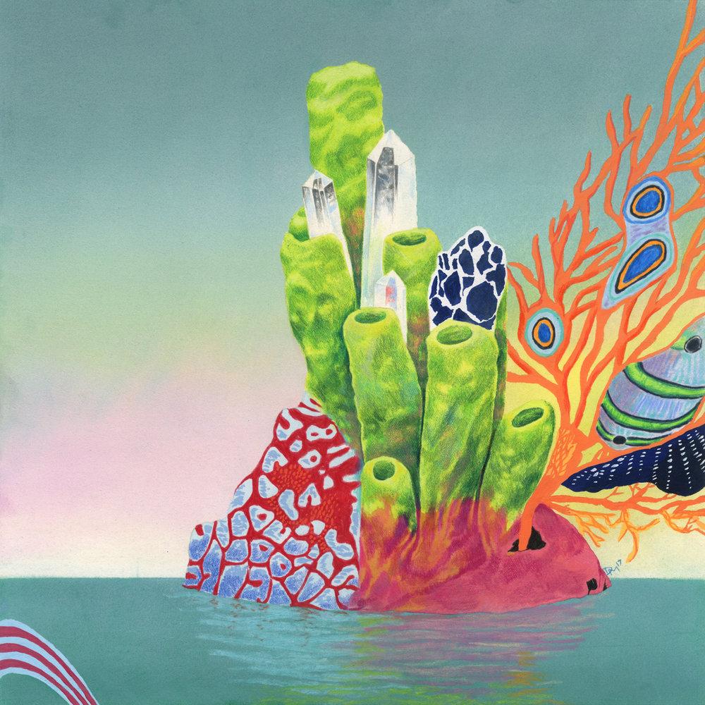 Imagined Vinyl Album Cover Art — Dominique Merven