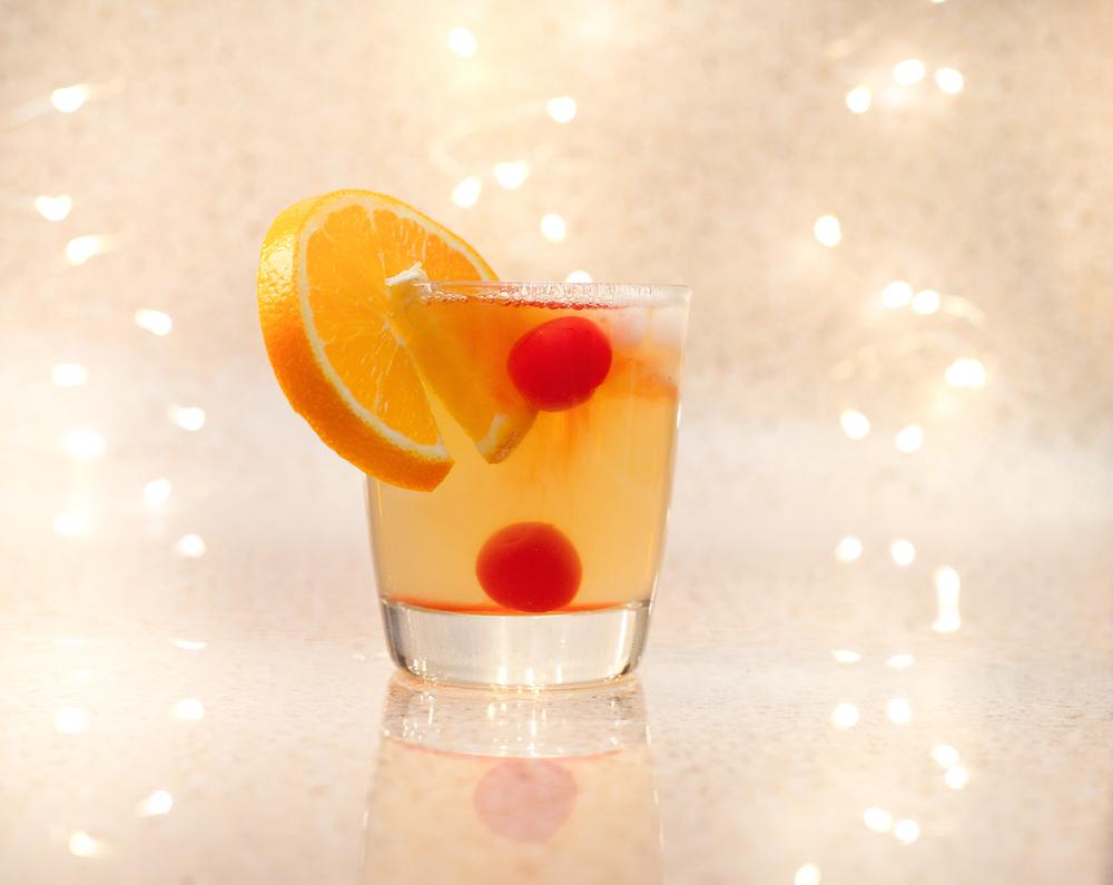 Bourbon Whiskey Sweet & Sour
