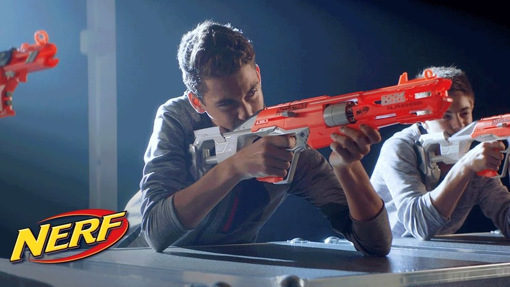 "Nerf Commercial - Forever The Sickest Kids ""Woah Oh"""