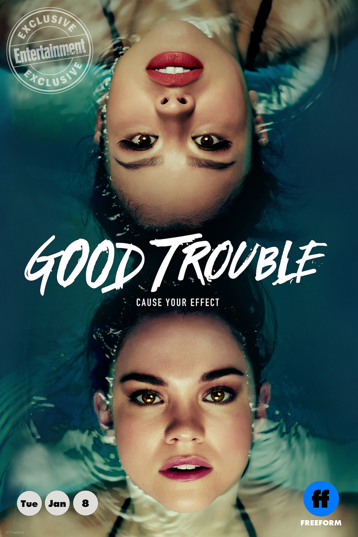 "Freeform ""Good Trouble""- Cynnamon ""Sunny Side"""