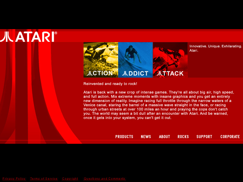 Atari Homepage