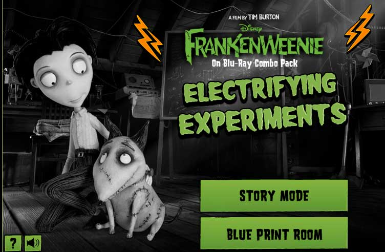 Frankenweenie Electrifying Experiements