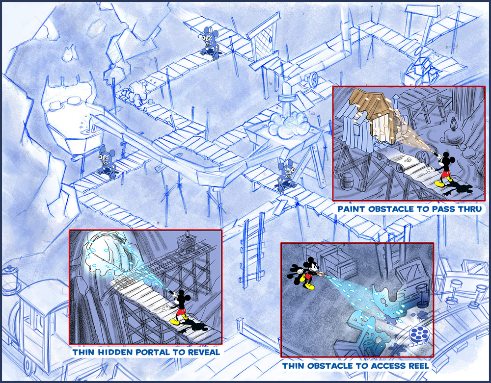 Epic Mickey Path Painter