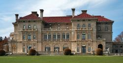 The east elevation of The Breakers, built by Richard Morris Hunt in 1895.