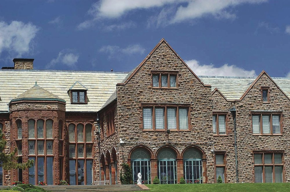 Rough Point, built in a baronial style from quarried stone, was the Dukes' home in Newport. Doris Duke's restoration foundation will celebrate its golden anniversary with many special activities.