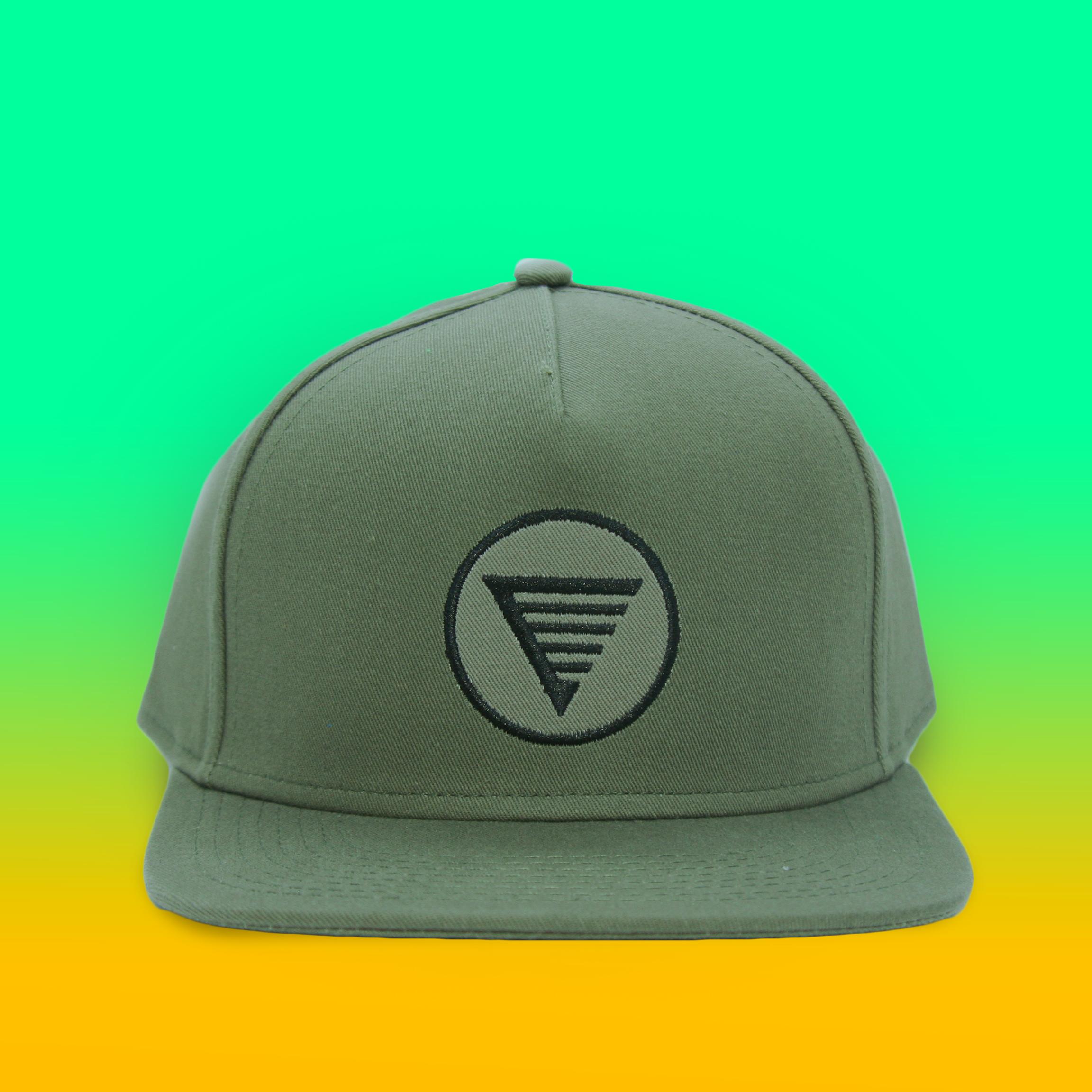 e82a90f7a3bd9 HOMES Trucker Hat- Olive Green. 0007 Ball army.jpg