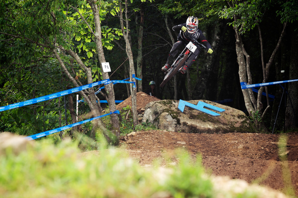 Top notch riding on a nearly-always sloppy wet course