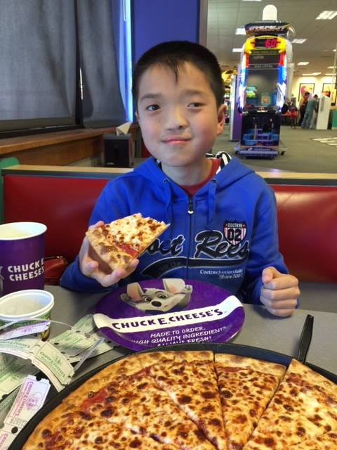 Meet Shao, a 12-year-old pizza lover with a repaired cleft lip and palate and a left eye that needs some love. See pictures of his host family by clicking on his picture.