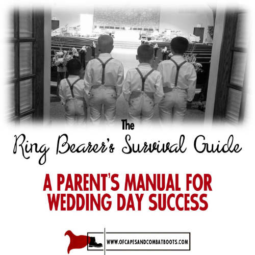 The Ring Bearer's Survival Guide