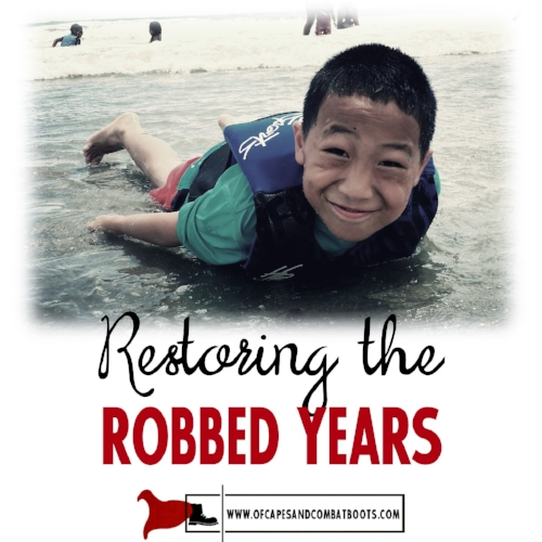 Restoring the Robbed Years