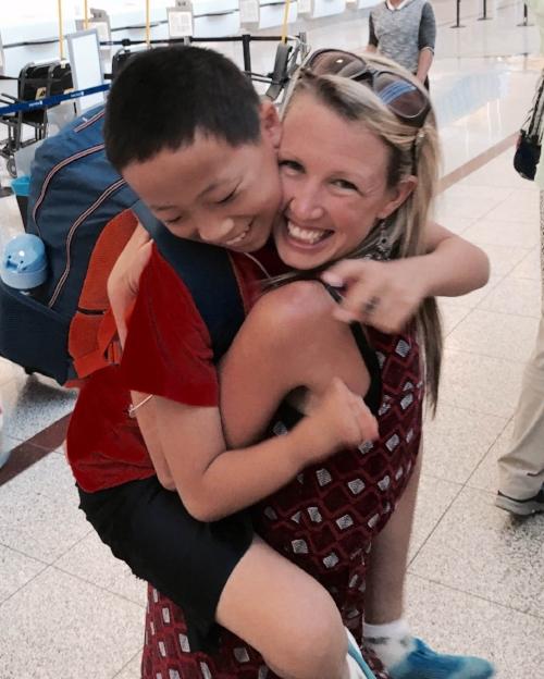 Airport Hugs