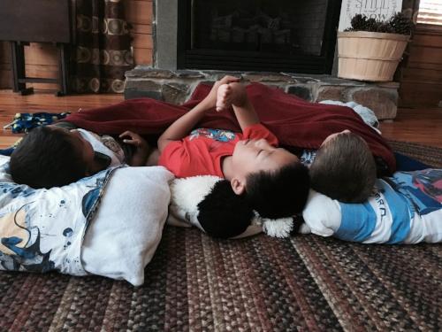 Boys on Floor
