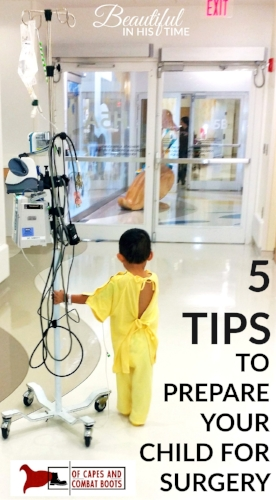 5 Tips for Surgery Day