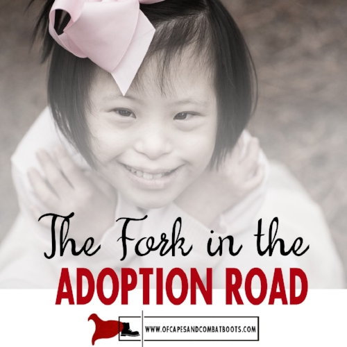The Fork in the Adoption Road