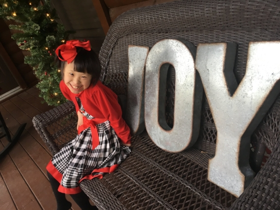 Joy at Christmas