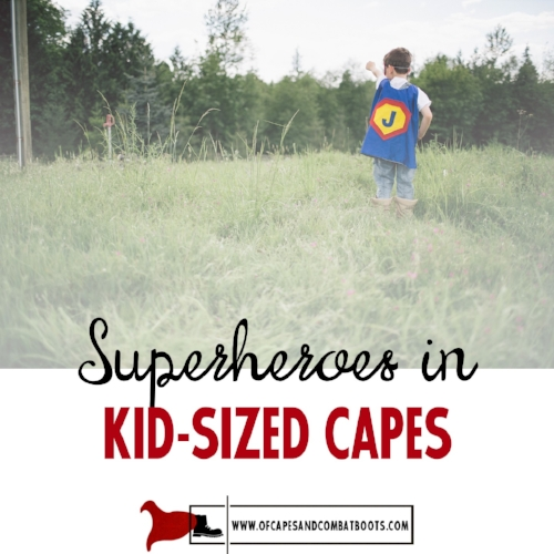 Superheroes in Kid-Sized Capes