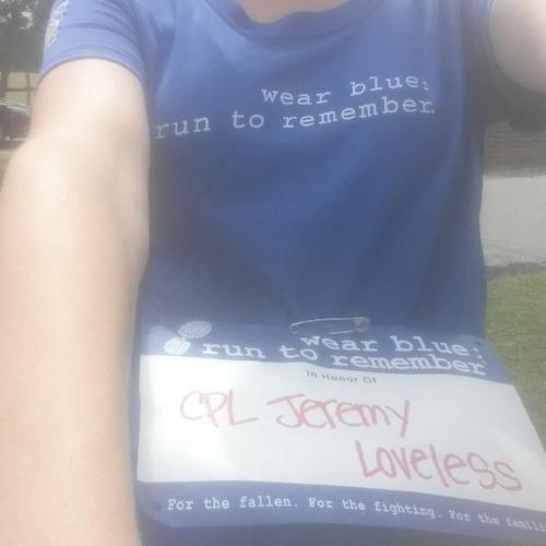 Running for Jeremy