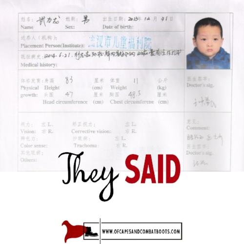They Said