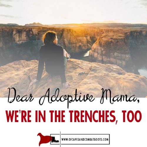 Dear Adoptive Mama