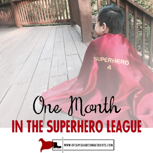 One Month in the Superhero League