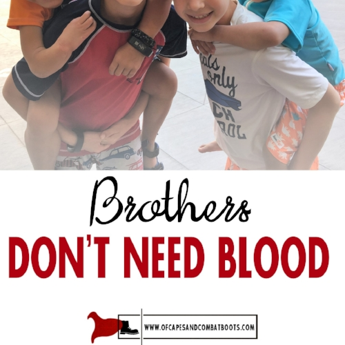 Brothers Don't Need Blood