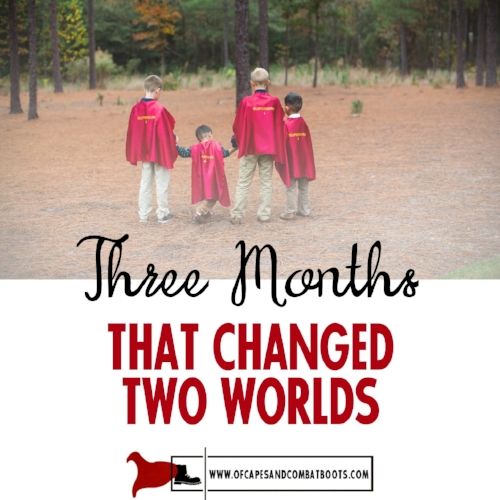 Three Months That Changed Two Worlds